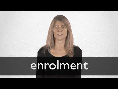 Enrolment Definition And Meaning Collins English Dictionary