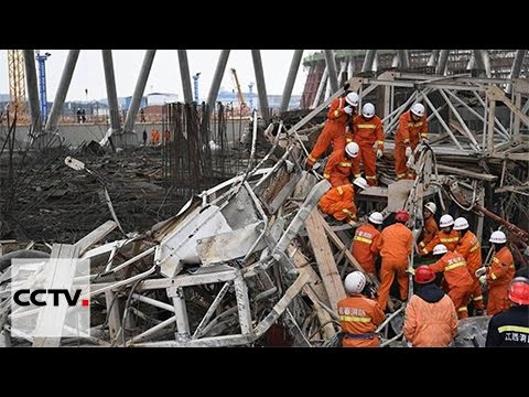 At least 40 people killed at construction site in Jiangxi