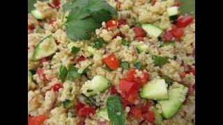 COUSCOUS Salad - How to make COUSCOUS SUMMERTIME SALAD Recipe