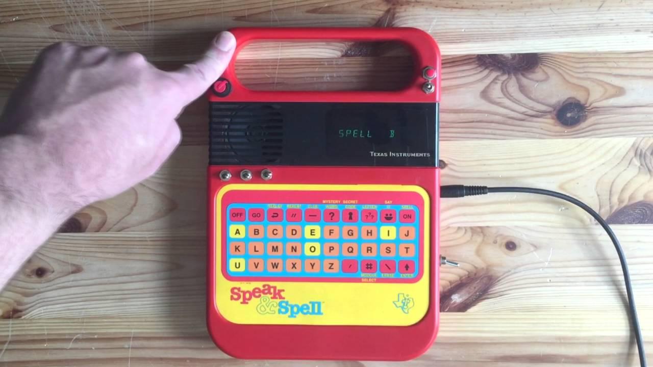 bendmonger s circuit bent texas instruments speak spell toy unit rh youtube com Circuit Bending Drum Circuit Bending Arduino