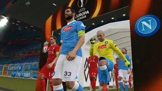 PES 2016 UEFA Europa League Final (S.S.C. Napoli vs Liverpool Gameplay)