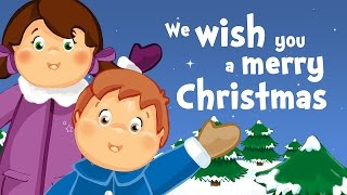 We wish you a merry Christmas (christmas song for kids with lyrics)