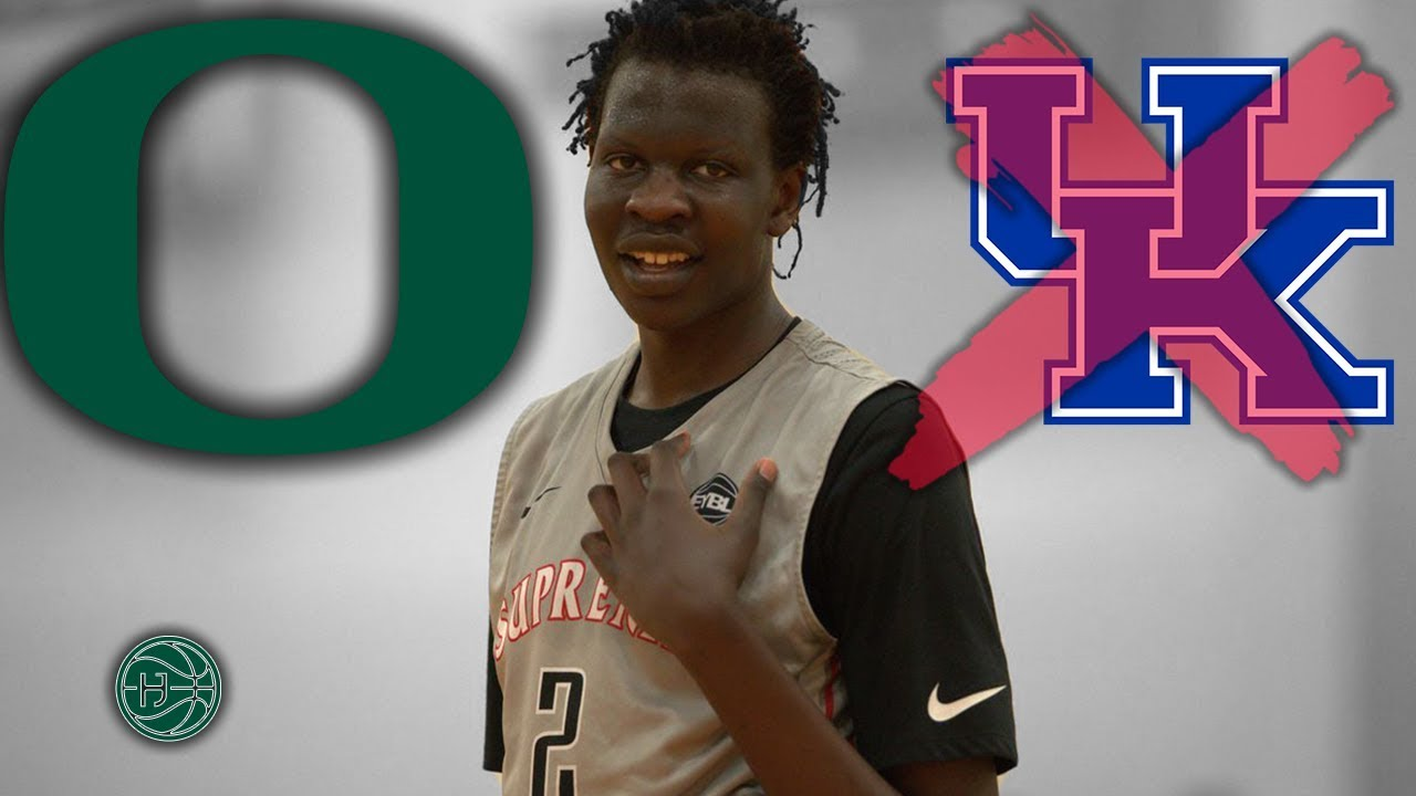 official photos 5e2ca 67ae3 Bol Bol COMMITS To OREGON! Best Player in The COUNTRY?