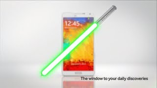 Introducing Samsung Galaxy Note 3