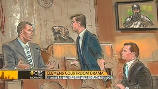 Andy Pettitte testifies against Roger Clemens