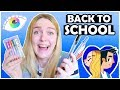 BACK TO SCHOOL ART SUPPLIES! - Make ART with Stationery!