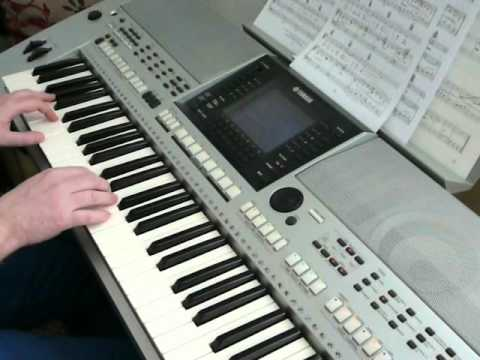 Yamaha PSR-S900 - Unchained Melody