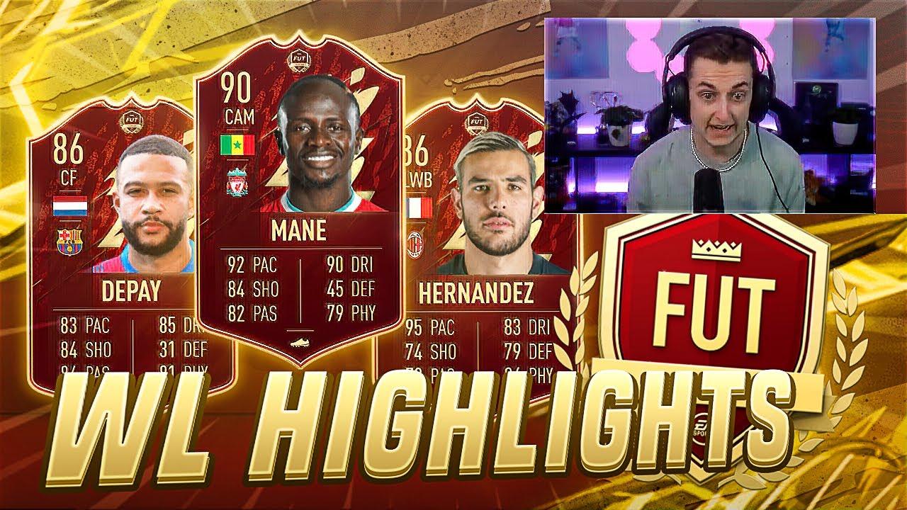 RANG 1 REWARDS & FIFA 22 WL HIGHLIGHTS 🔥