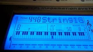 Видео-урок - Катюша (синтезатор).