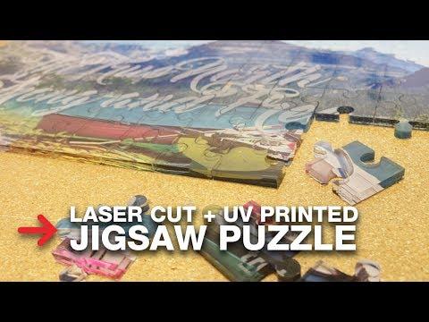 DIY Jigsaw Puzzle   Laser Cut Acrylic Puzzle   Trotec