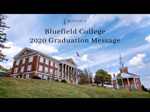 Bluefield College Graduation Message to the Class of 2020