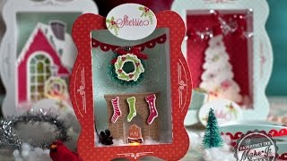 Papertrey Ink Make It Market All Through the House Kit: Lighted Shadow Box Ornaments