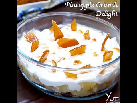 Pineapple Crunch Delight   Pineapple Crunch Delight recipe