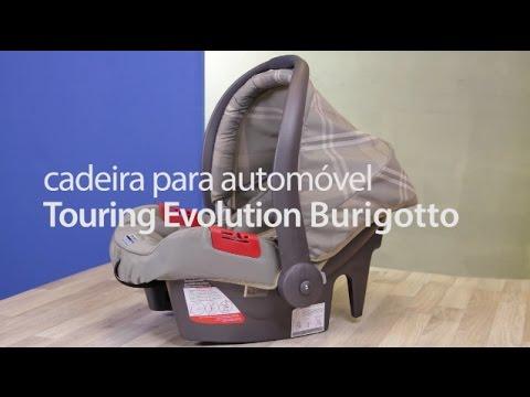 47da1b80fbb82 Cadeira para Automóvel Touring Evolution Burigotto - YouTube