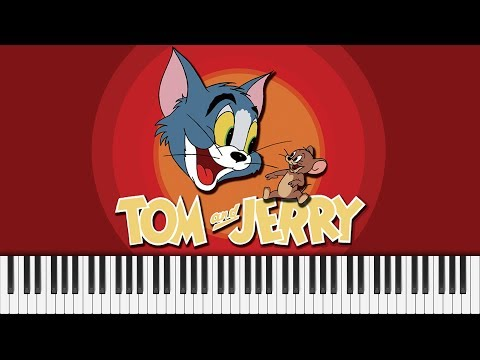 Tom and Jerry - Theme - Piano Cover + FREE SHEET MUSIC