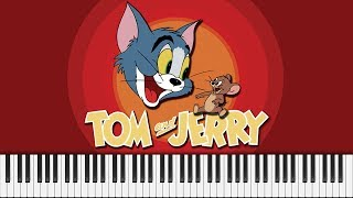Tom And Jerry Theme - Piano Cover FREE SHEET MUSIC.mp3