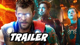 Avengers Infinity War Promo Breakdown and Marvel Phase 4 Easter Eggs