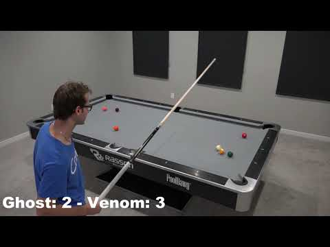 The Ghost VS Venom - 9 Ball Race to 7