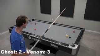 The Ghost VS Venom - 9 Ball Race to 7