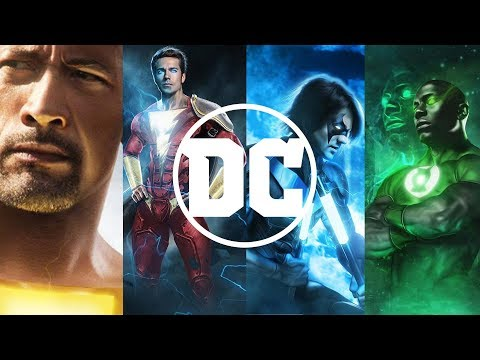 All Upcoming DC EXTENDED UNIVERSE Movies