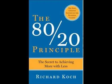 The 80 20 Principle by Richard Koch Audio Book Self Help Imp