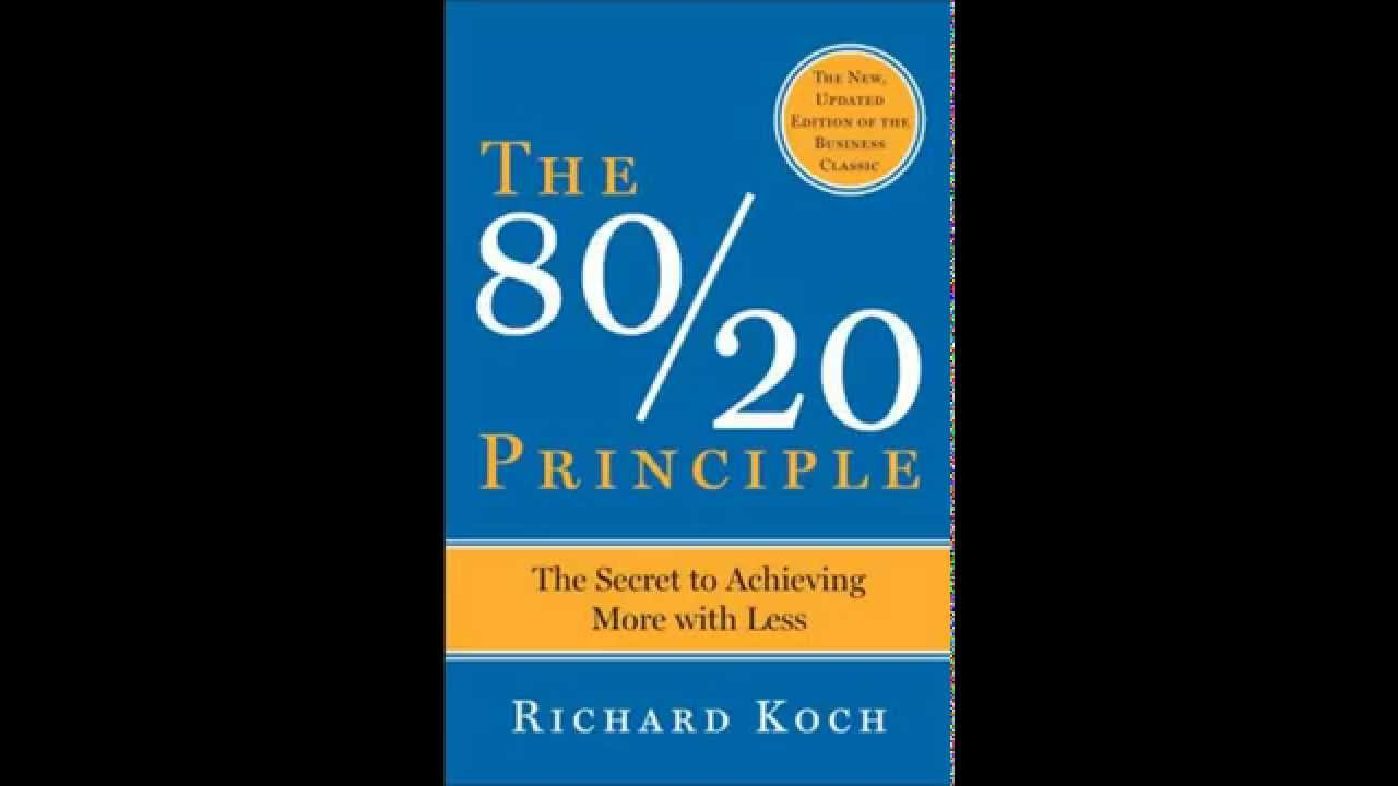 The 80/20 Principle by Richard Koch Audio Book Self Help Improvement