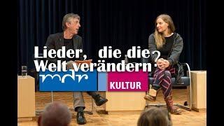 """Podiumsgespräch """"Lieder, die die Welt verändern?"""" mit Judith Holofernes, Wenzel, Michael Custodis"""