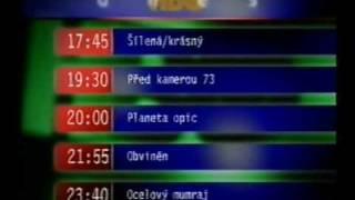 HBO Czech: Znělky, jingly, upoutávky, identy: 1997 - 2003