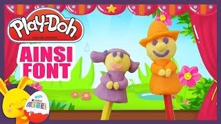 Les comptines en pâte à modeler Play-Doh