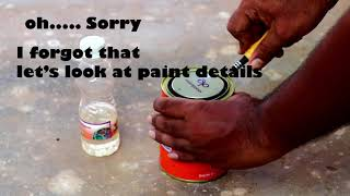 How to paint a gate/asian paints premium enamel paint/gate colour paint/rusty gate paint