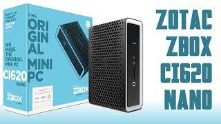 [Cowcot TV] Présentation ZOTAC ZBOX CI620 nano