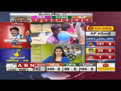 మల్కాజ్గిరి లో కాంగ్రెస్ అభ్యర్థి రేవంత్ రెడ్డి గెలుపు | Election Results 2019 | ABN Telugu