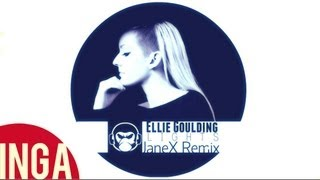 Ellie Goulding - Lights (JaneX Remix) [Inga TV]