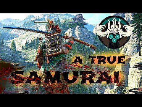 A True Samurai - For Honor