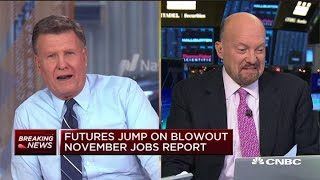 Jim Cramer: These are the best jobs numbers of our lives