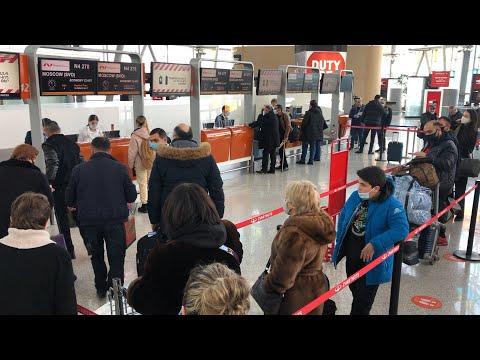 Граждане Армении  после долгого запрета вылетают в Россию