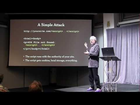Douglas Crockford: Principles of Security