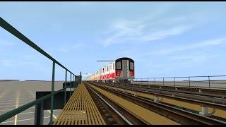 Trainz 12: R142 MBTA (2) Train (Grand Central - East 180 St) [Nonstop]
