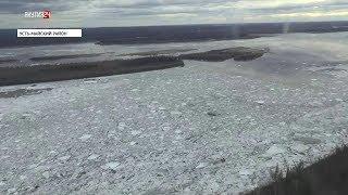 По данным МЧС Якутии ледоход на реках Якутии проходит в соответствии с прогнозом