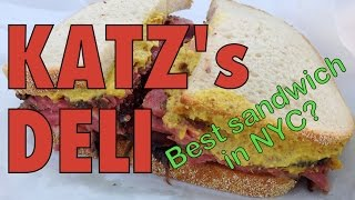 Katz's Deli: Eating Pastrami and Corned Beef Meat Sandwiches in New York City