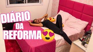 AGORA EU TENHO UM QUARTO COR DE ROSA!!! (BY PAMELLA)