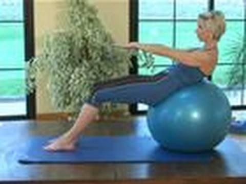 Pilates: Five Invigorating Exercises Using A Balance Ball ...