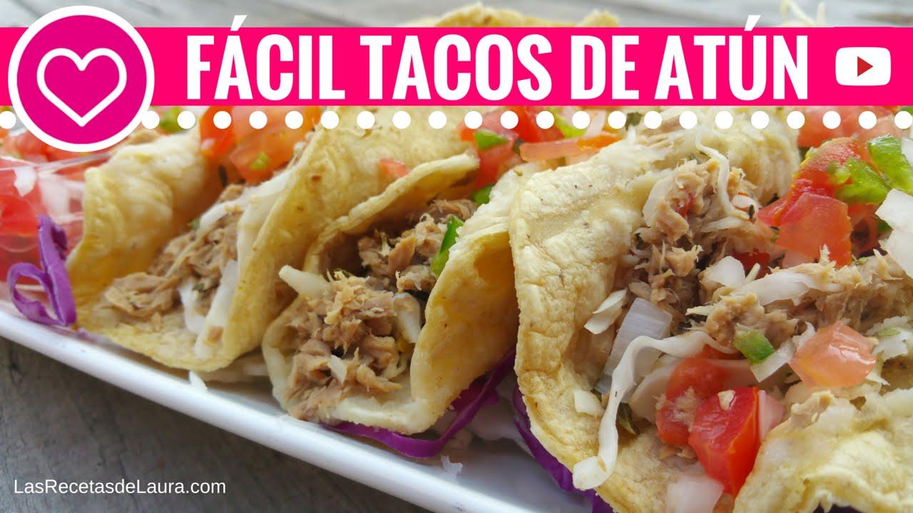 Tacos de atun a la mexicana recetas f ciles y saludables - Comidas deliciosas y saludables ...