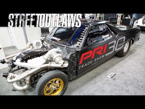 STREET OUTLAWS at PRI 2017 - Monza, Reaper, Kamikaze, Big Chief, Murder Nova, Farmtruck