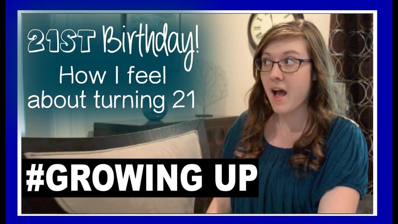how to feel better about growing up