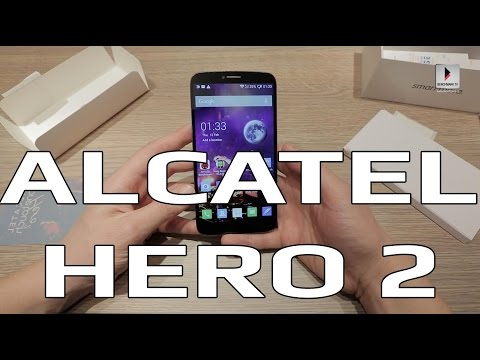 Alcatel Hero 2 unboxing