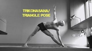 Trikonasana/Triangle Pose
