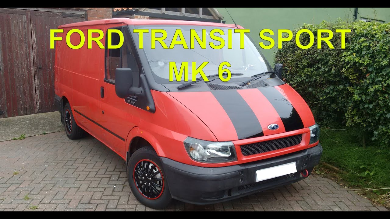 Custom Ford Transit Sport MK 6