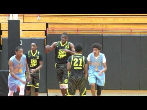 042117 Peach State Invitational (GA) Highlights - Team Powell vs. Georgia Sonic Boom - 8th Grade