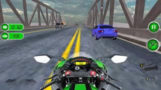 Real Motor Bike City Racing Ride Simulator Game 3D - Gameplay Android free games